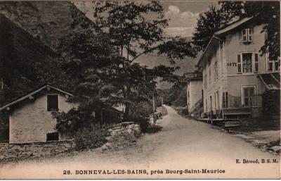 bonneval les bains vers 1900