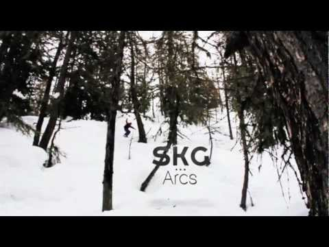Une video ski, nature et aventure