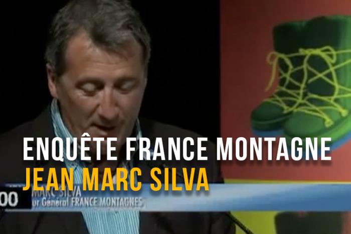 Ski Débrief - présentation de l'enquète France Montagne par Jean Marc Silva