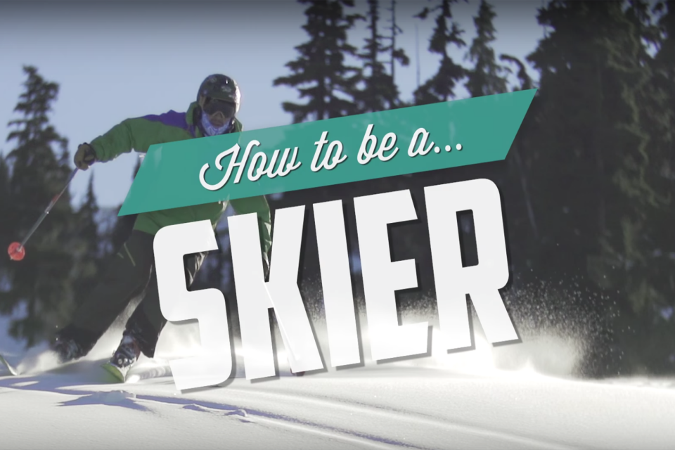 How to Ski, les principes du ski alpin par IFHT