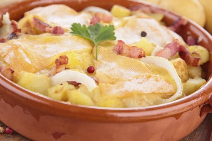 La recette de la Tartiflette - [Série] les spécialités savoyardes