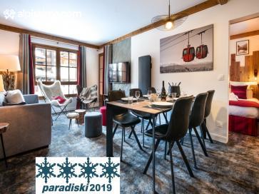 :Superbe Appartement Arc 1950 4/6 pers-Résidence Hôtelière 5*