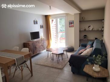 :Spacieux appartement neuf 5 min à pied des pistes