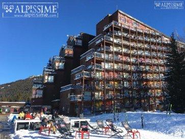:COEUR DE STATION  appartement 5 pers. Skis aux pieds!!!